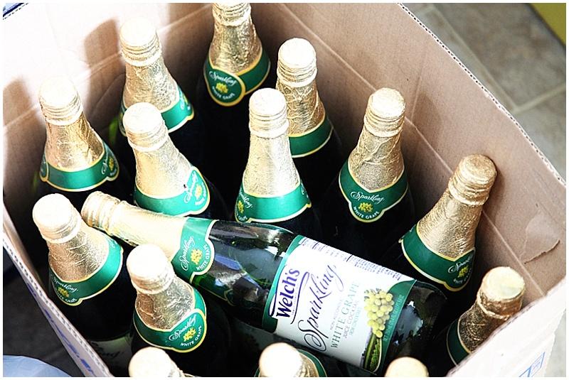 sparkling grape juice