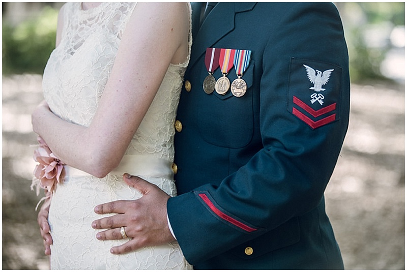 uniform male wedding attire