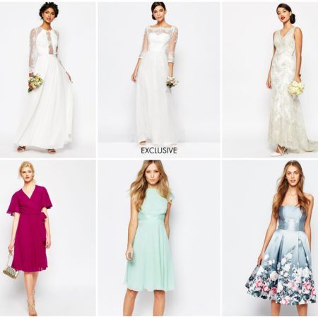 asos wedding collection