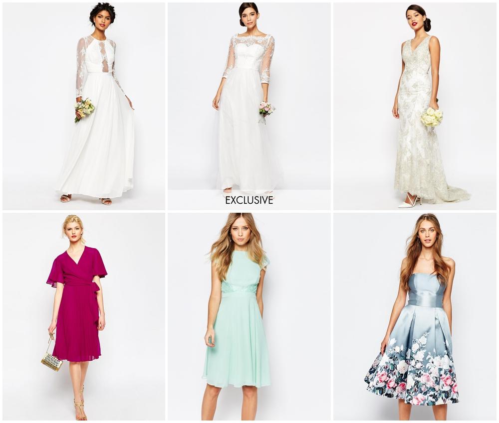 asos wedding collection