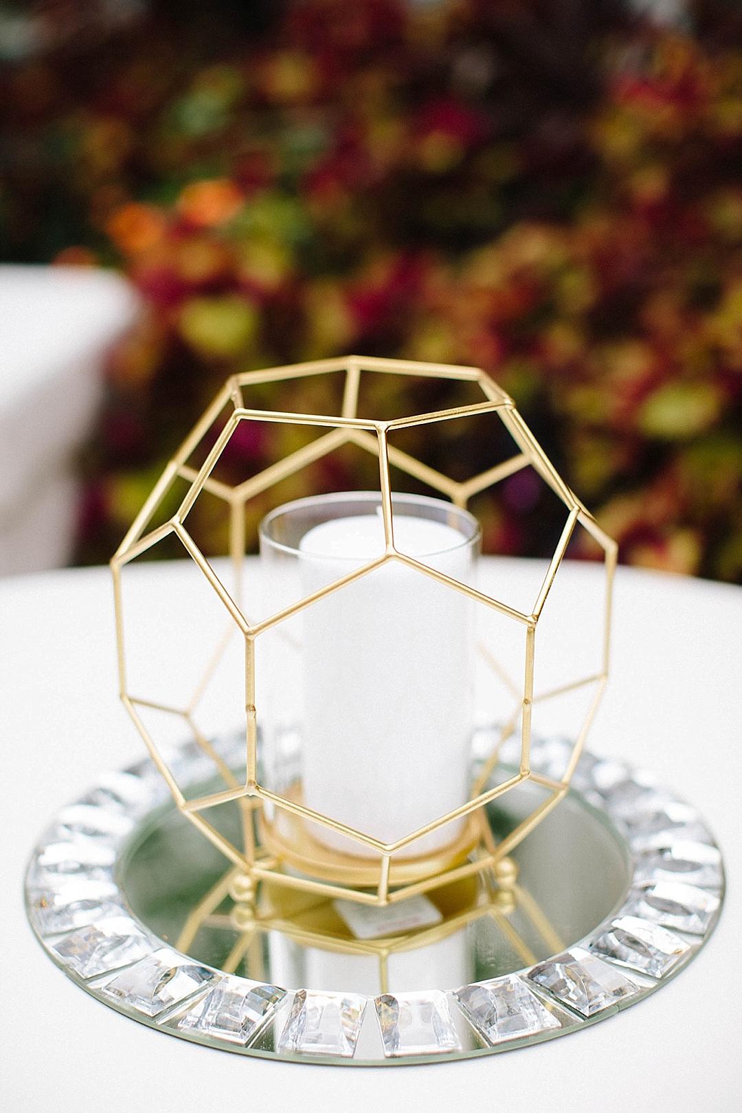 davids bridal for aisle society - centerpiece idea
