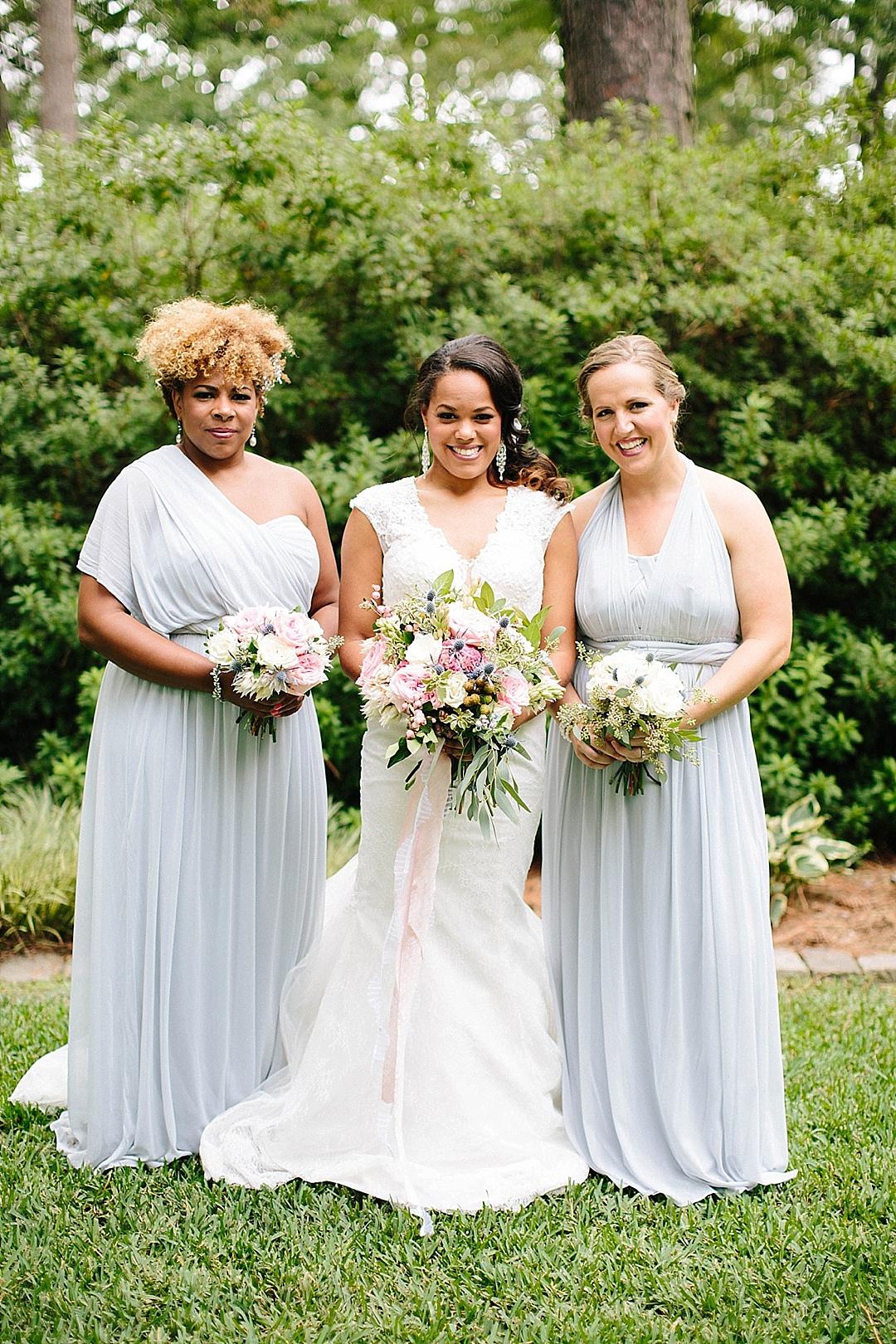 davids bridal for aisle society - bridesmaids
