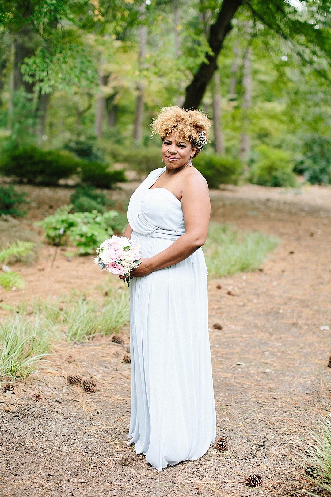 davids bridal for aisle society - bridesmaids dresses