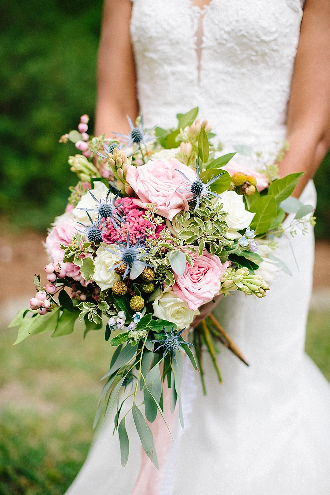 davids bridal for aisle society - bouquet