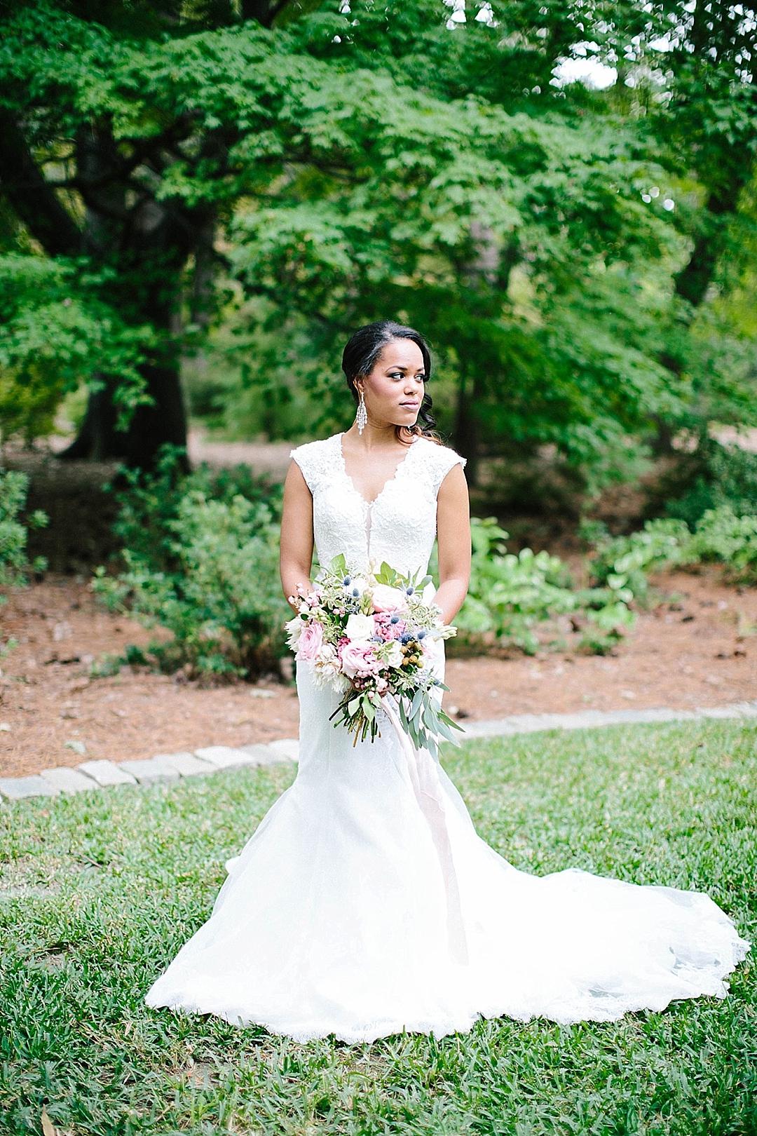davids bridal for aisle society - bridal gown
