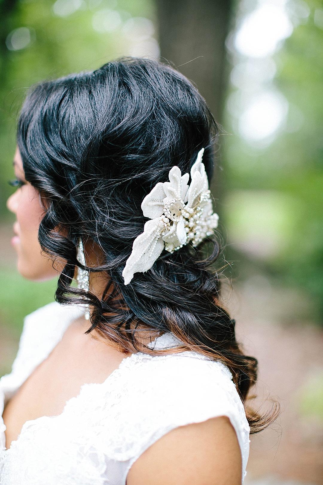 davids bridal for aisle society - hair