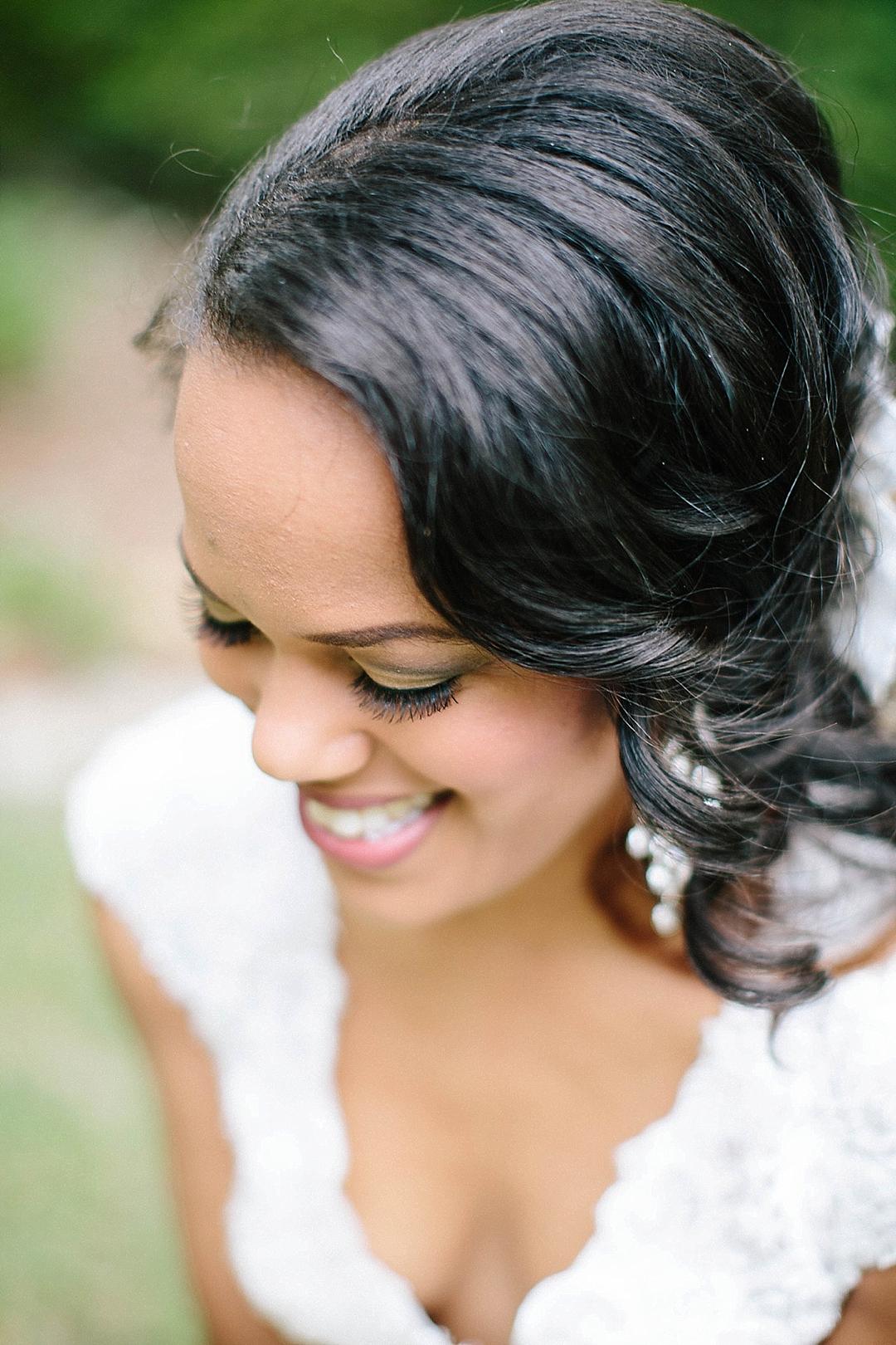 davids bridal for aisle society - makeup