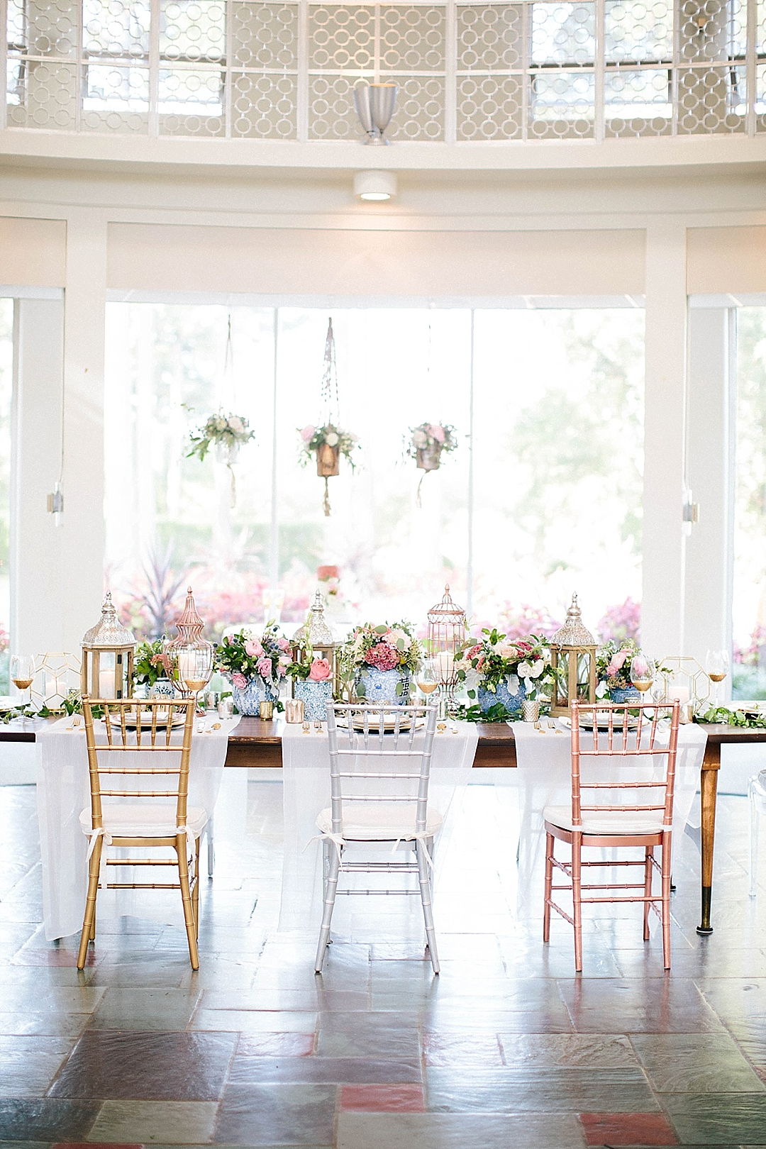 davids bridal for aisle society - tablescape