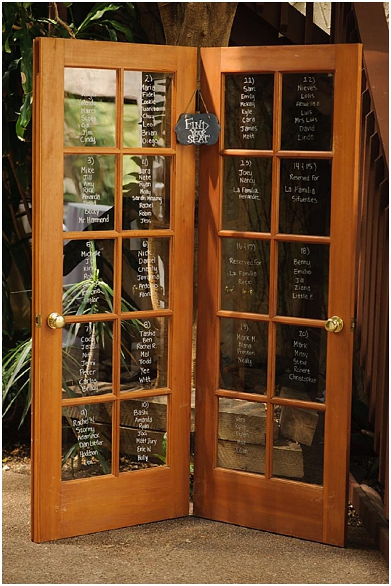 door seating chart