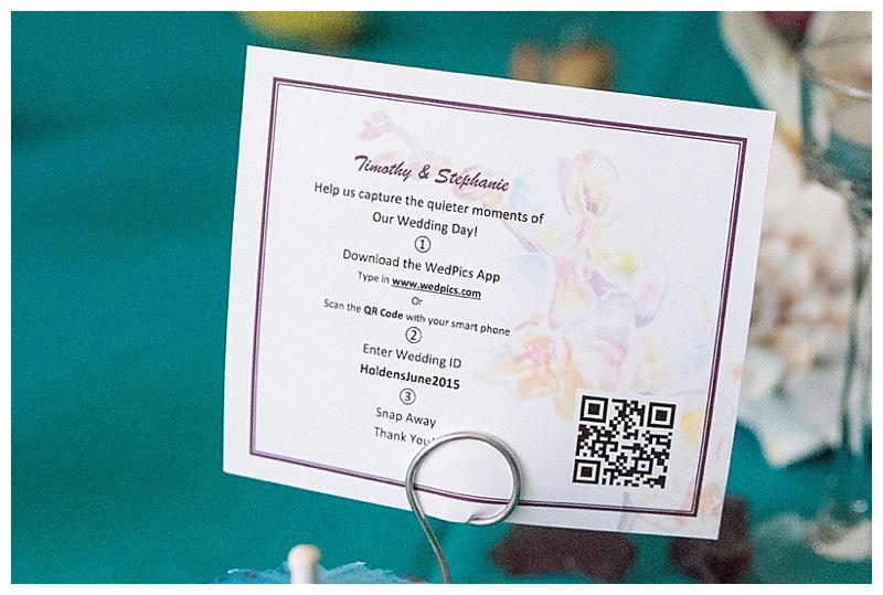 wedding social media info