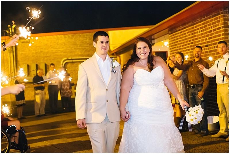 wedding departure