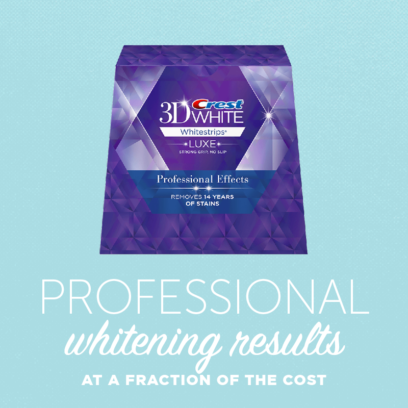 professional whitening results