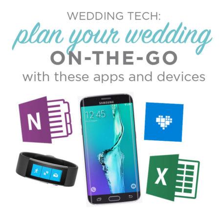 wedding planning on the go