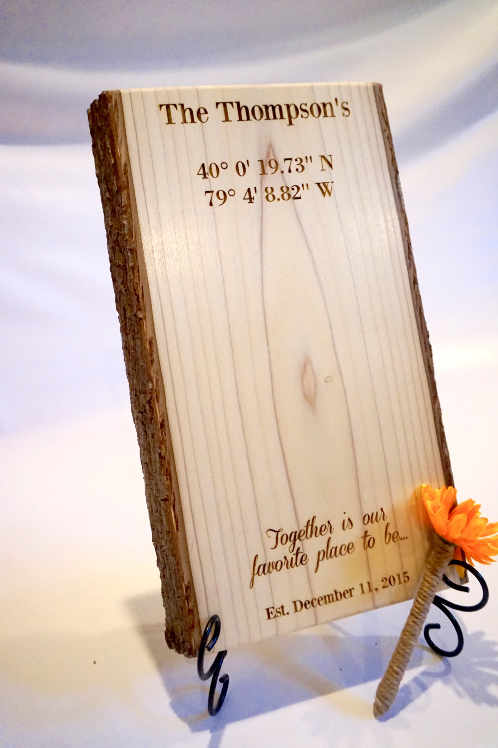 Wooden Plaque Guest Book by CDShardwoods on Etsy