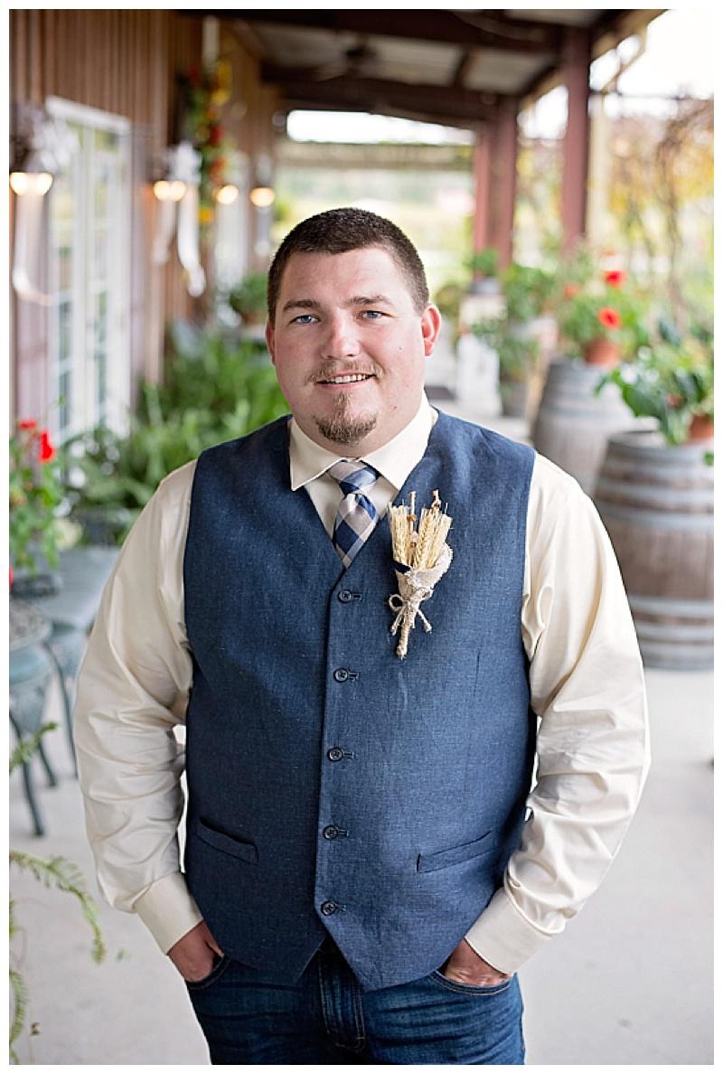 casual groom's attire