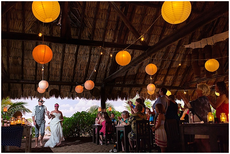 lantern wedding reception decor