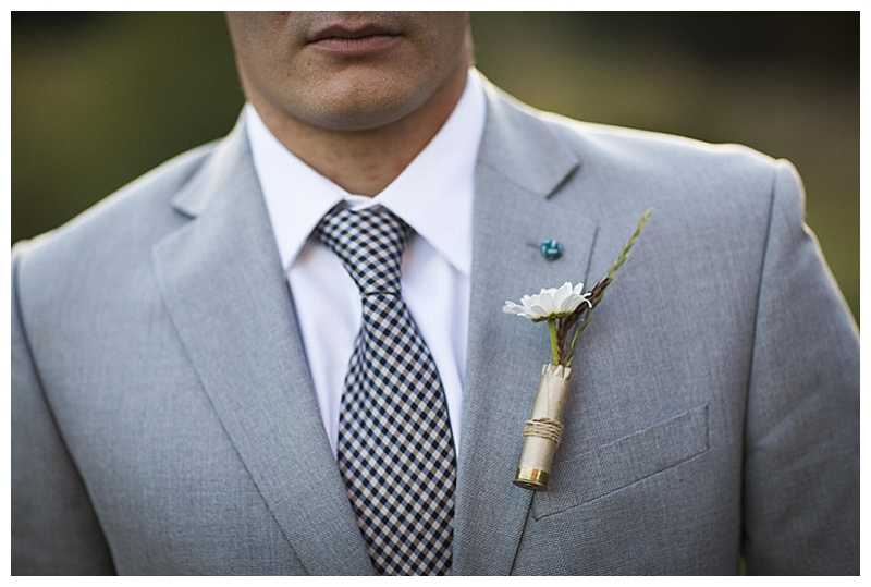 groom gray suit
