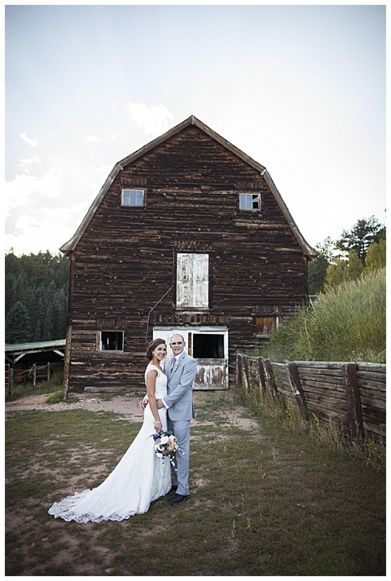wedding barn photo