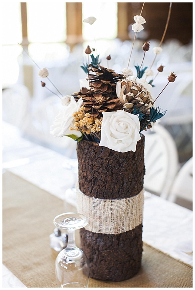 trunk wedding centerpieces