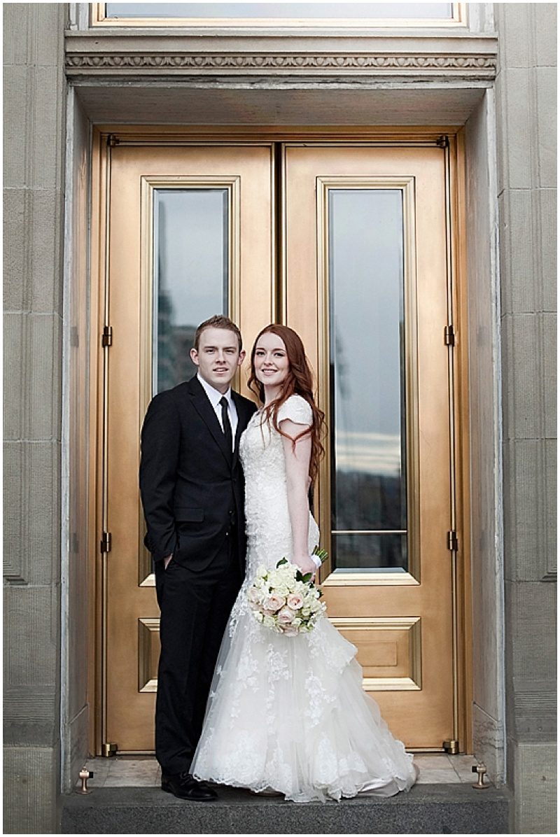 winer wedding photos