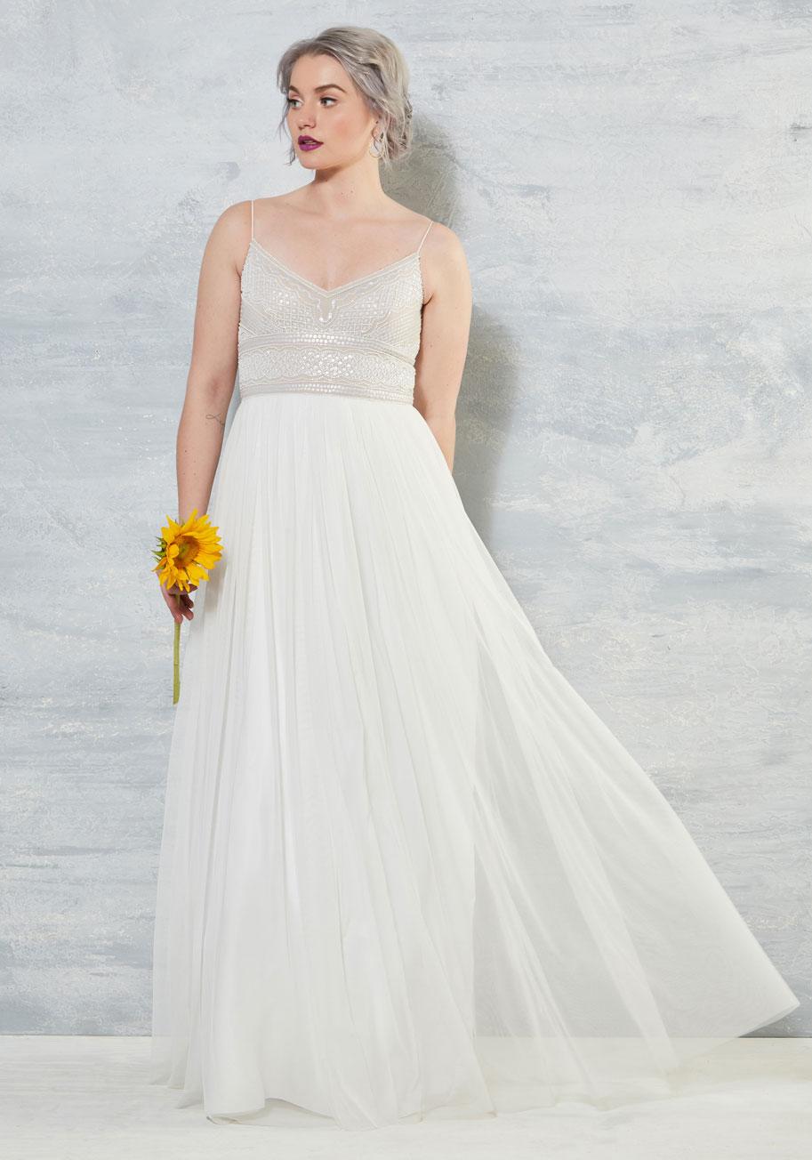 Shine Bride Like a Diamond Dress - ModCloth Wedding Dress