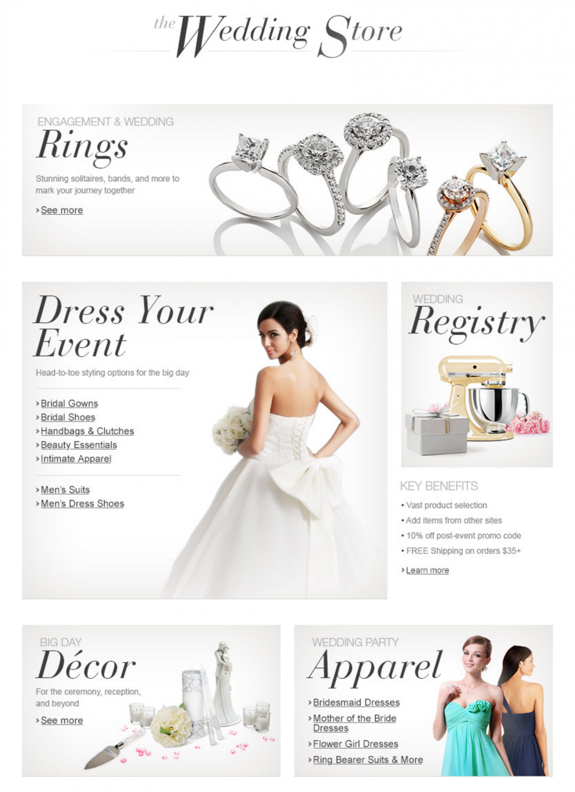 Shop the Amazon Wedding Store for everything you need for your big day!!