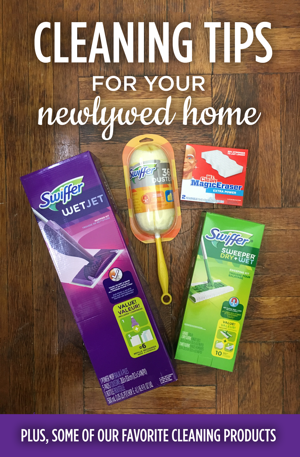 cleaning tips for your newlywed home