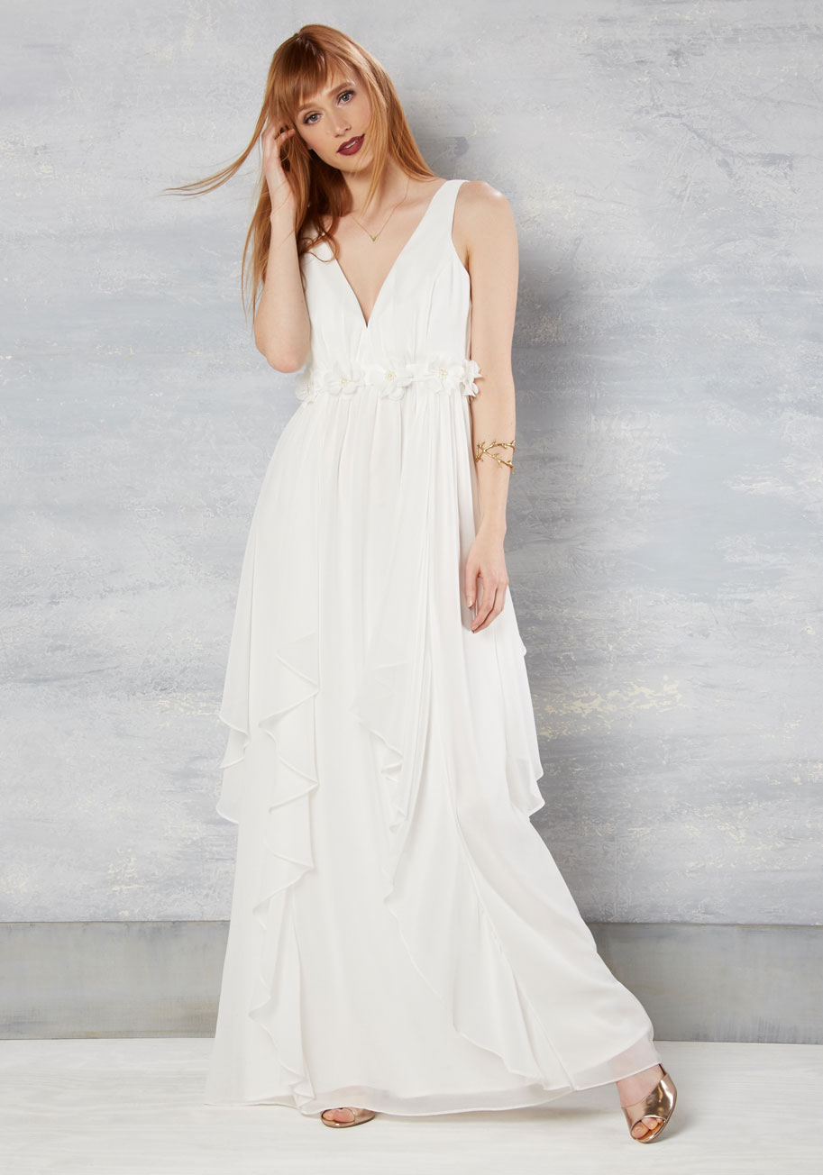 slow dance splendor - modcloth wedding dress
