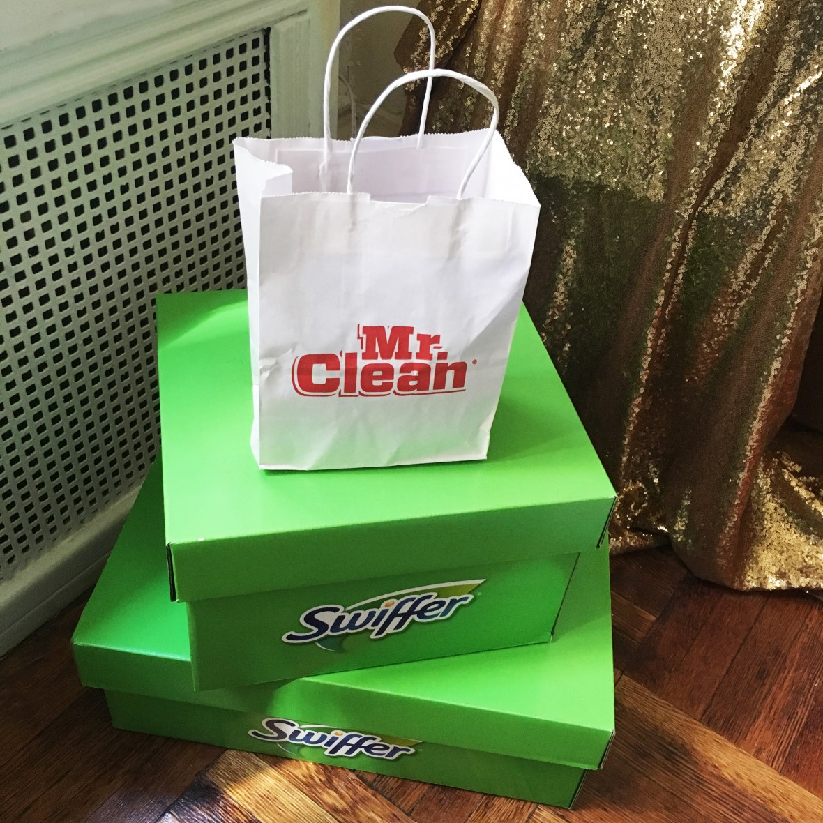 swiffer and mr clean products