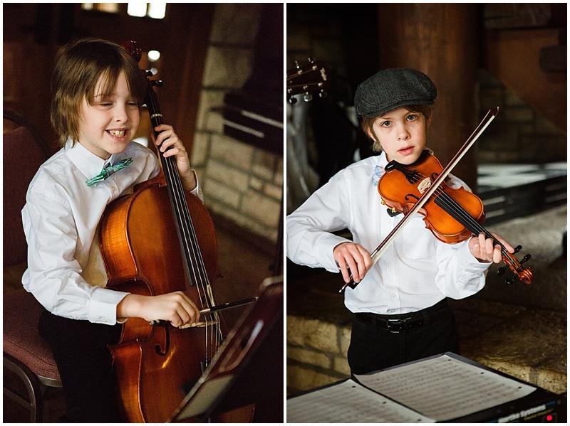 wedding children musician