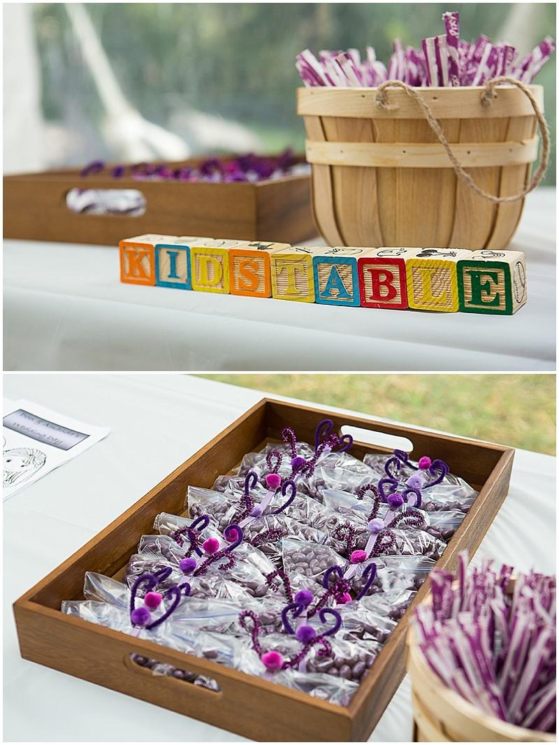 weddingkid's table