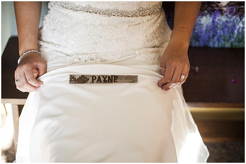 wedding army memento