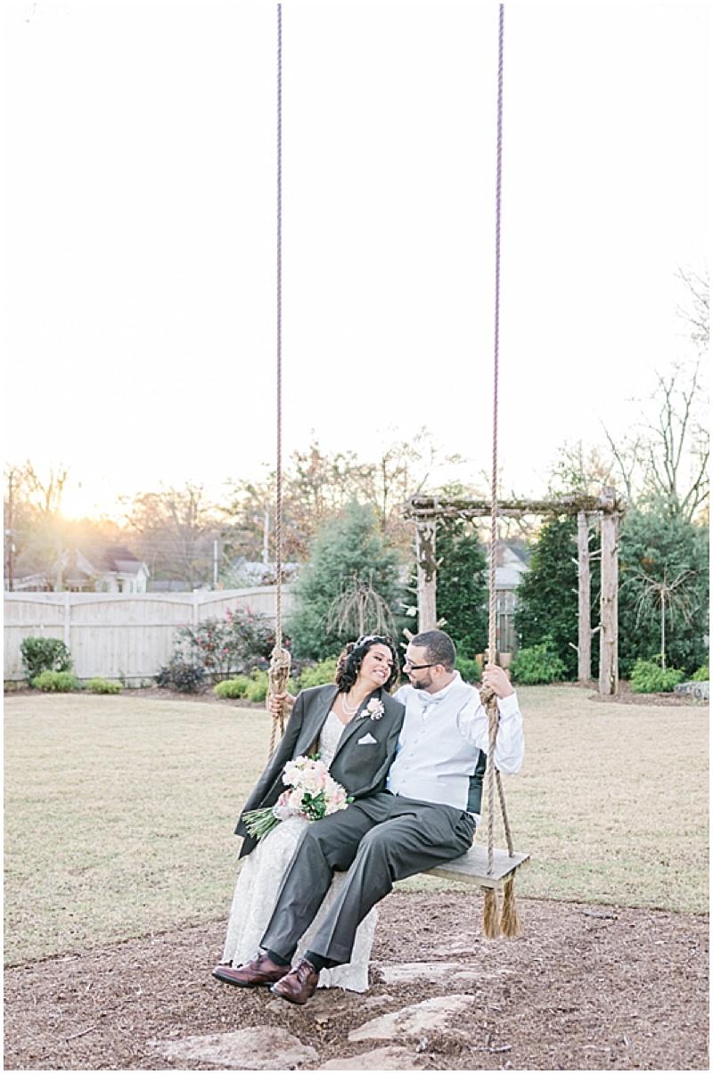 wedding swing photos