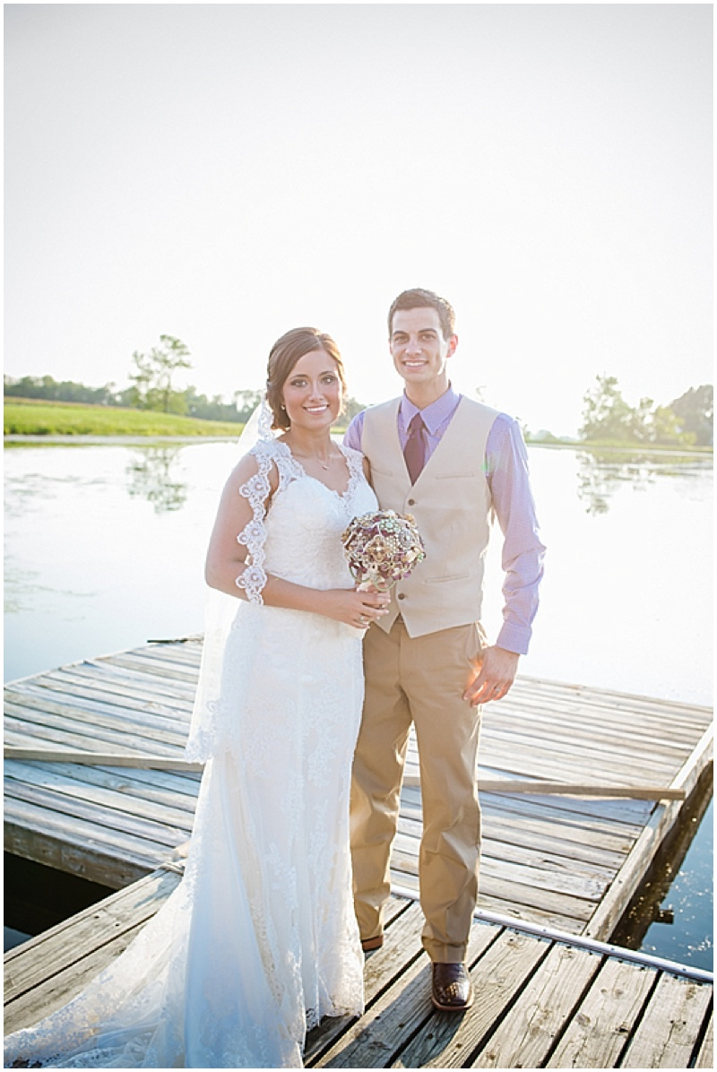 lake wedding photos