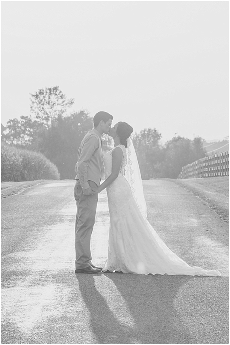 outdoor farm wedding photos
