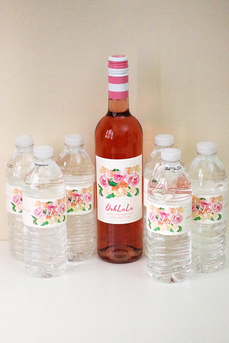 bottle your brand - custom wedding labels