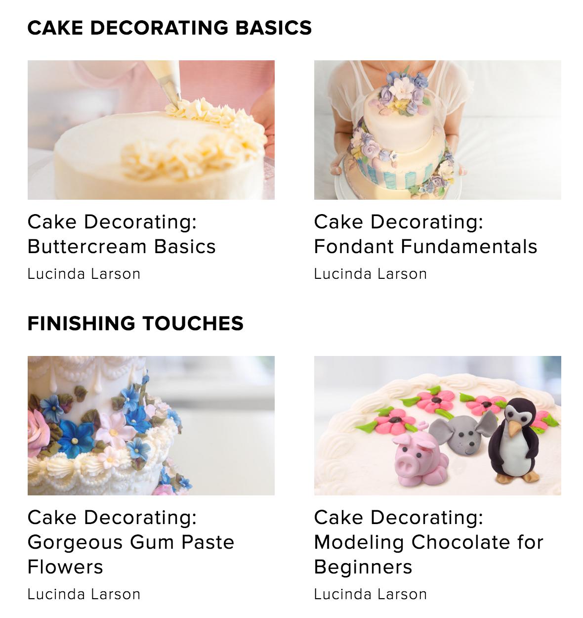 cake decorating creativelive