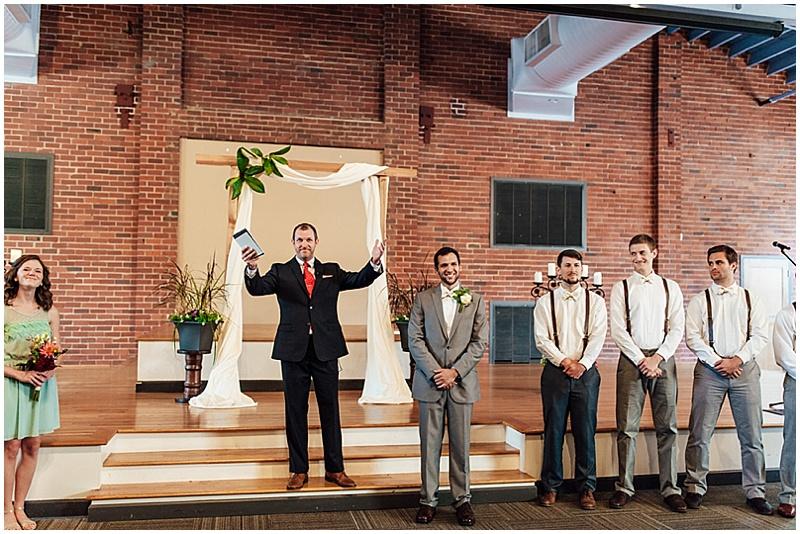 modern church wedding ceremony