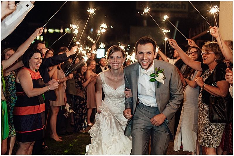 wedding reception get-away