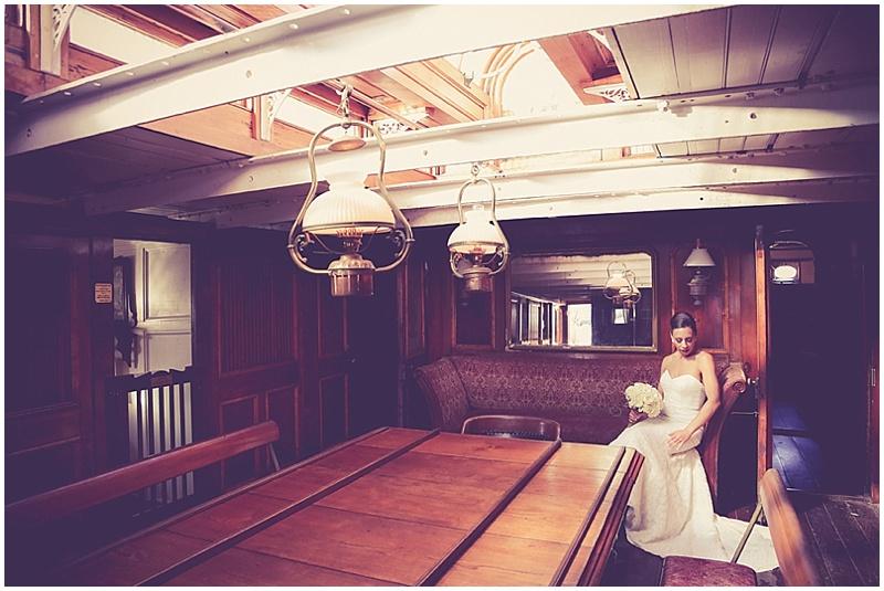 cabinet sailboat wedding photos