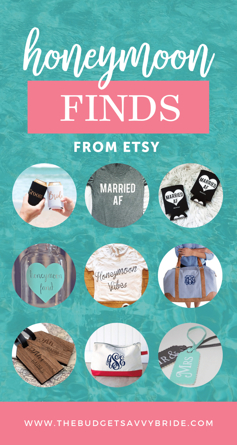 honeymoon finds from etsy