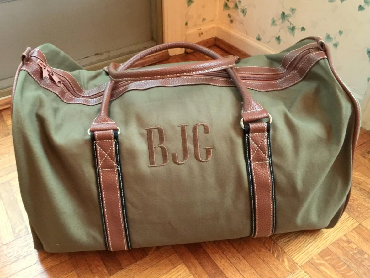 honeymoon travel bag