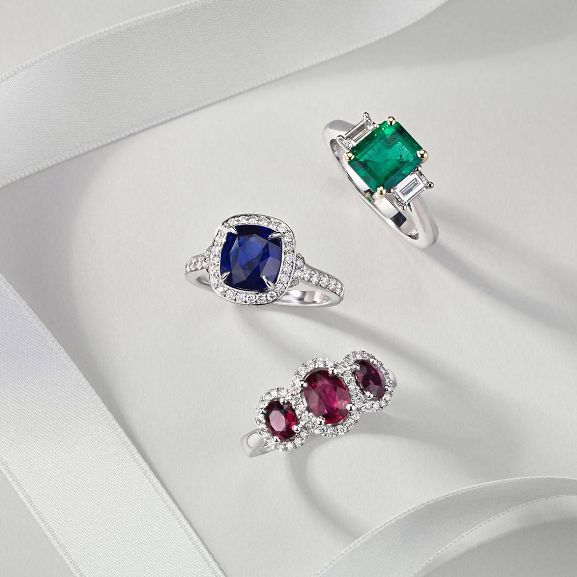 Blue Nile Colored Gemstone Engagement Rings - Budget Savvy Engagement Ring Shopping Tips