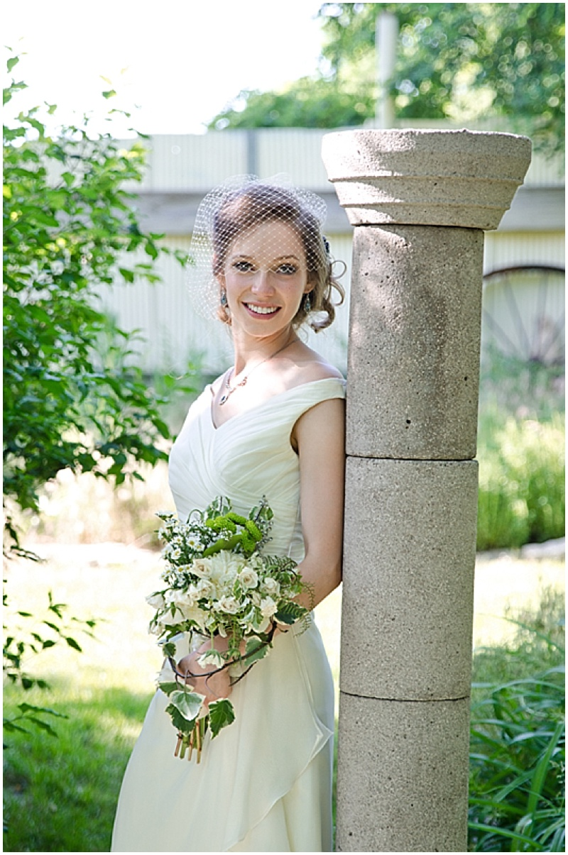 wedding garden photos