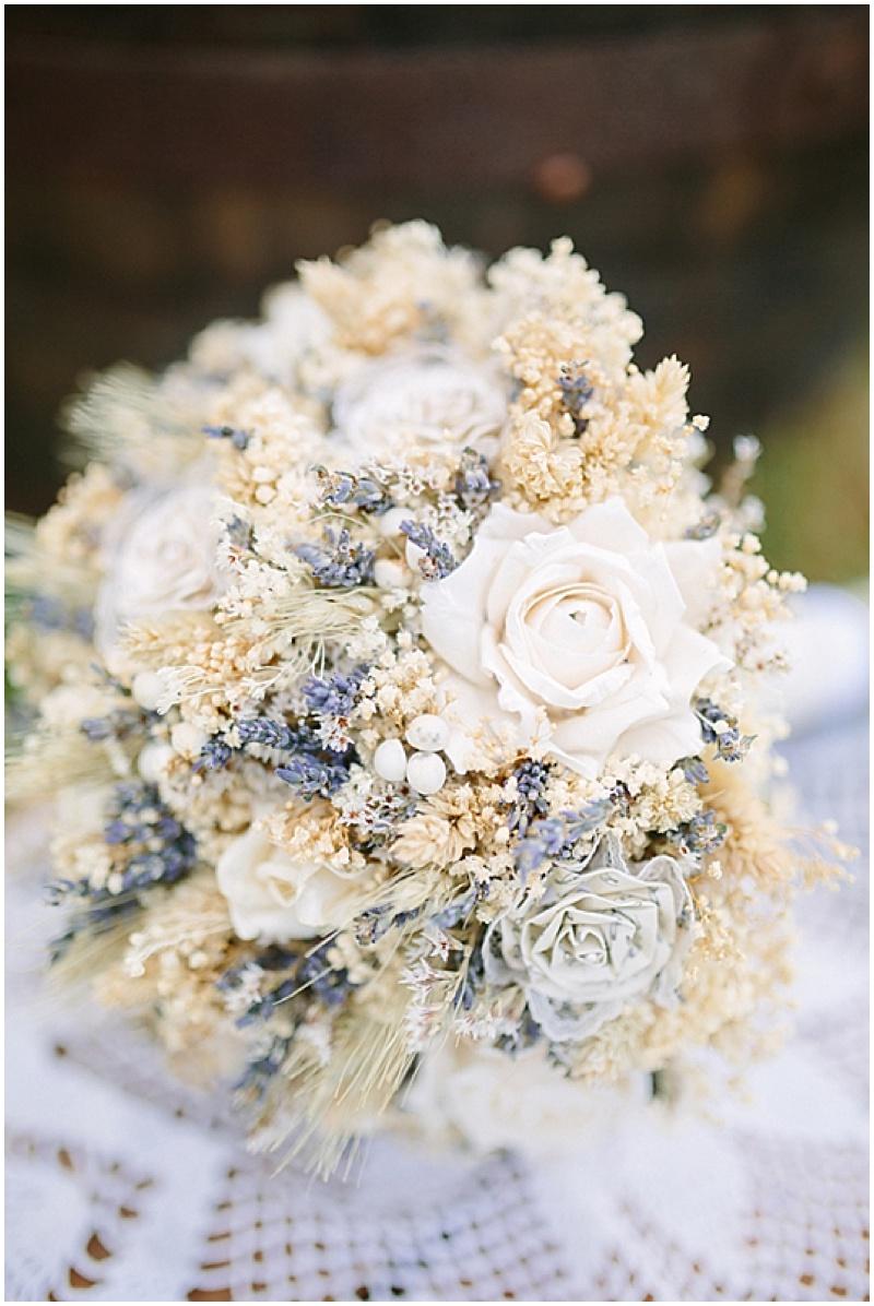 dried herbs bouquet