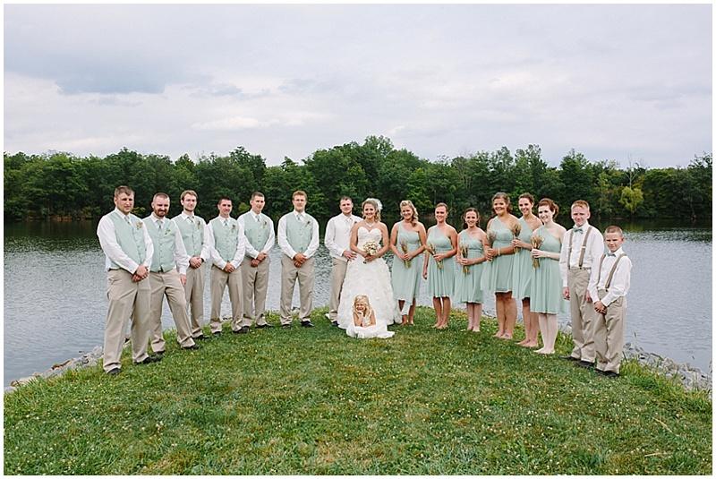 sage and khaki wedding attire