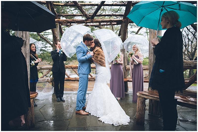 outdoor NYC wedding ceremony