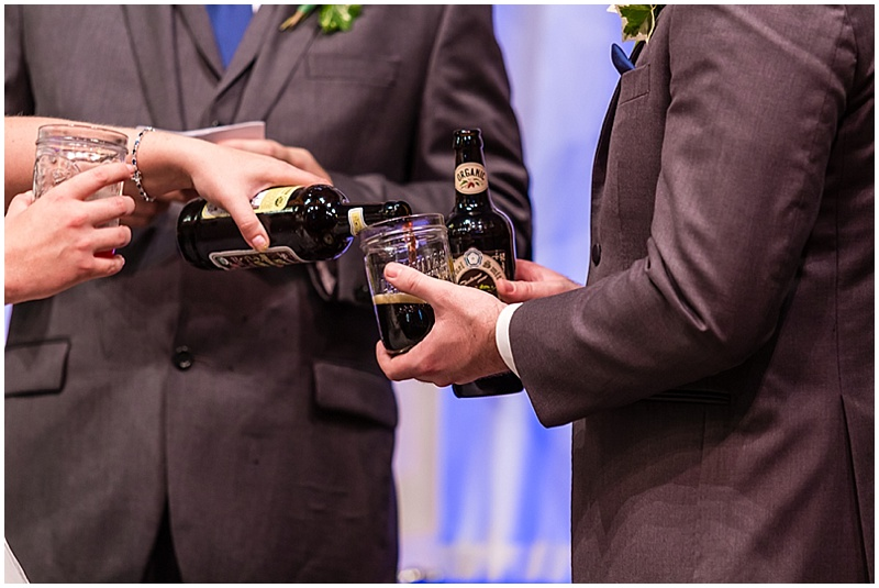 wedding beer ceremony