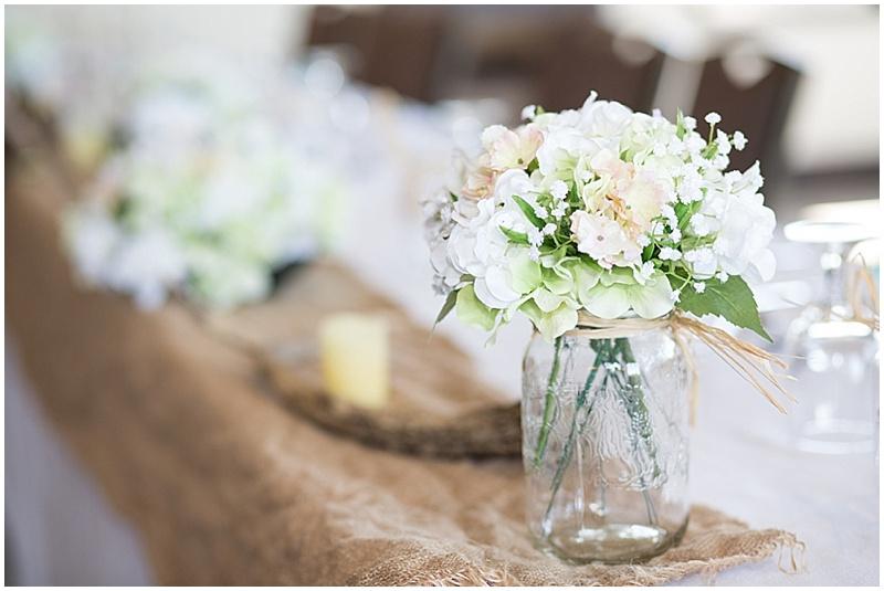 antler wedding decor