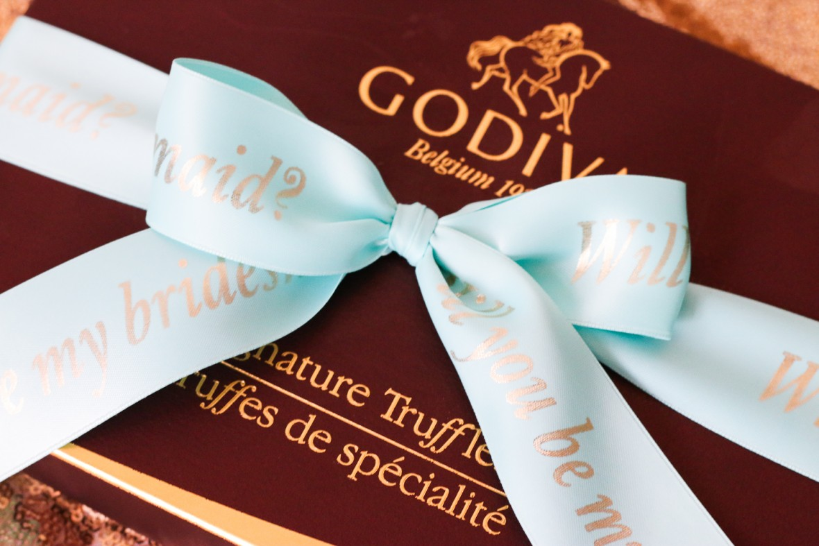 godiva wedding gift idea